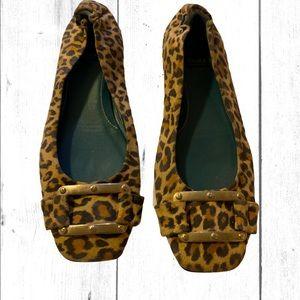 Leopard Print Flat Biala Shoes